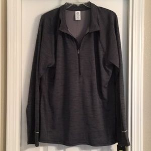 NWT Champion XXL Gray Long Sleeve Pullover